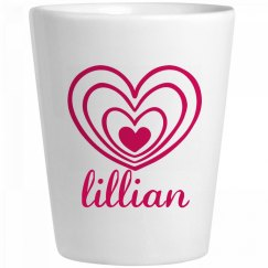 Cute Lillian With Hearts