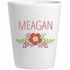 Cute Flower Meagan Shot Glass