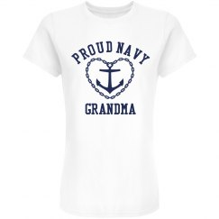 Proud Navy Grandma