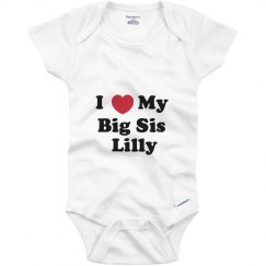 I Love My Big Sister Lilly