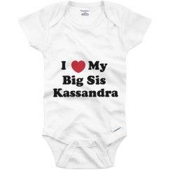 I Love My Big Sister Kassandra