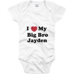 I Love My Big Brother Jayden