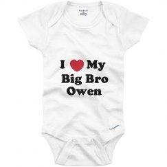 I Love My Big Brother Owen
