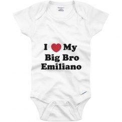 I Love My Big Brother Emiliano