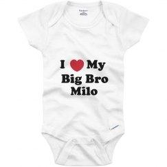 I Love My Big Brother Milo