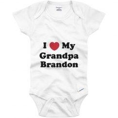 I Love My Grandpa Brandon