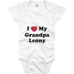 I Love My Grandpa Lenny
