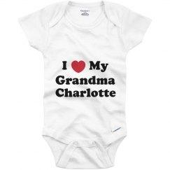 I Love My Grandma Charlotte