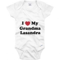 I Love My Grandma Lasandra