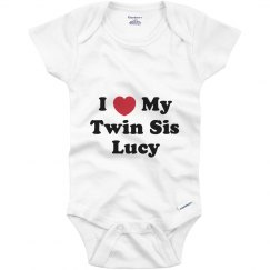 I Love My Twin Sister Lucy