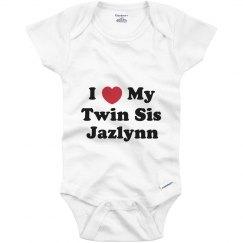 I Love My Twin Sister Jazlynn