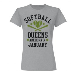 Softball Queens Are Born In January