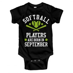 Softball Players Are Born In September