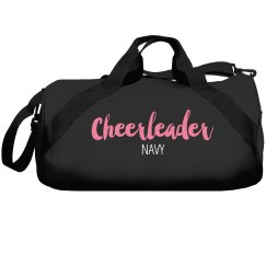Cheerleader Duffel Navy