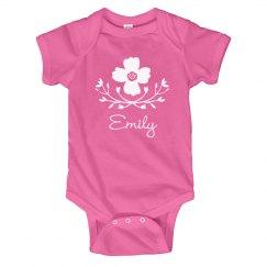 Flower Baby Girl Emily