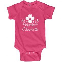 Flower Baby Girl Charlotte