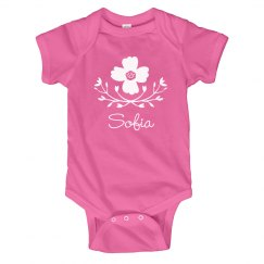 Flower Baby Girl Sofia