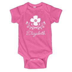 Flower Baby Girl Elizabeth