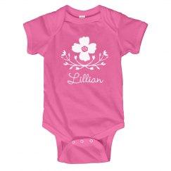 Flower Baby Girl Lillian