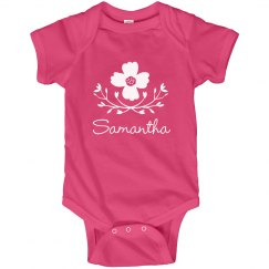 Flower Baby Girl Samantha