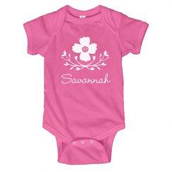 Flower Baby Girl Savannah