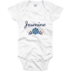 Blue Flower Baby Jasmine