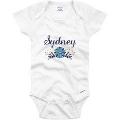 Blue Flower Baby Sydney