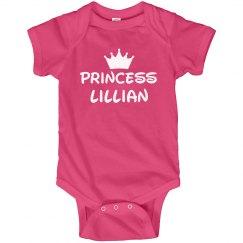 Princess Baby Lillian