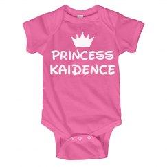 Princess Baby Kaidence