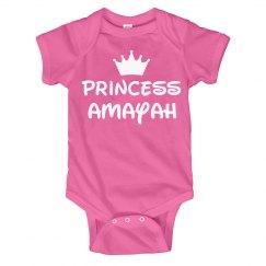 Princess Baby Amayah