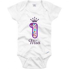 Mia 1st Birthday Outfit