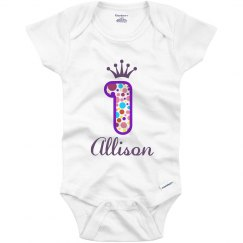 Allison 1st Birthday Outfit