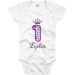 Lydia 1st Birthday Outfit