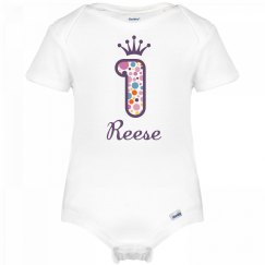 Reese 1st Birthday Outfit