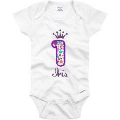 Iris 1st Birthday Outfit