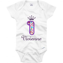 Vivienne 1st Birthday Outfit
