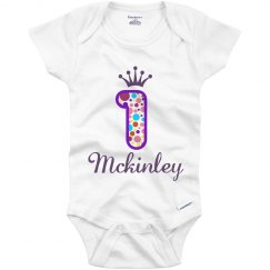 Mckinley 1st Birthday Outfit