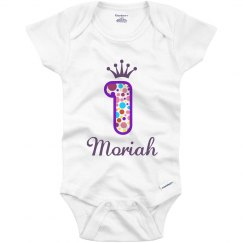 Moriah 1st Birthday Outfit