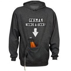 German Needs A Beer