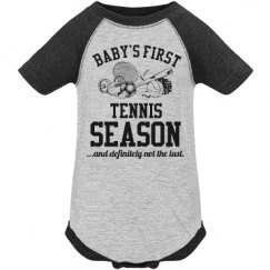 Baby's First Tennis Season