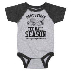 Baby's First Tee Ball Season