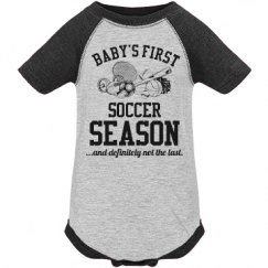 Baby's First Soccer Season