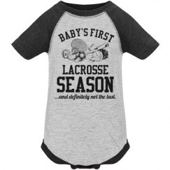 Baby's First Lacrosse Season