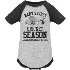 Baby's First Cricket Season