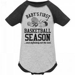 Baby's First Basketball Season