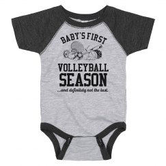 Baby's First Volleyball Season