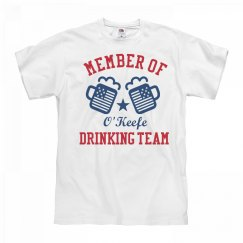 July 4th O'Keefe Drinking Team