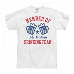 July 4th McMahan Drinking Team