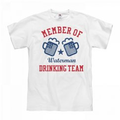 July 4th Waterman Drinking Team