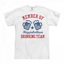 July 4th Higginbotham Drinking Team